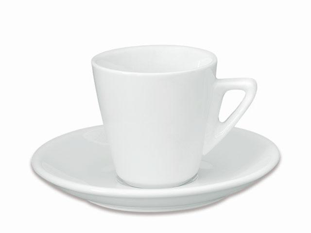 Šalica za čaj s tacnicom