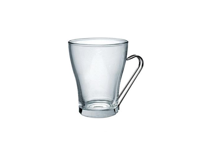 Staklena čaša za toplu čokoladu